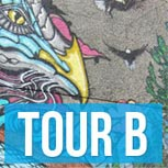 Tour A map