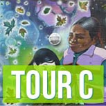 Tour A map and audio tour information