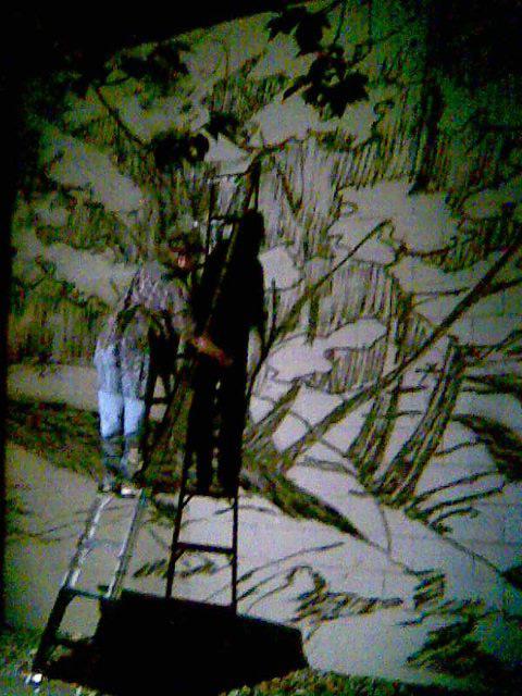 Cristina-projecting-#2