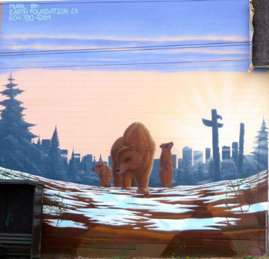 Earth Foundation Mural - 876 Cordova