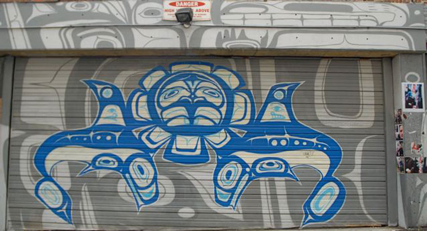 Native Art - 401 West Hastings